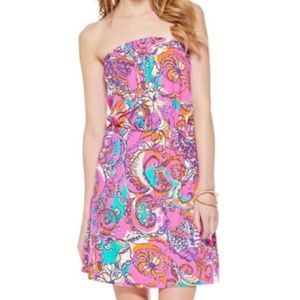 Lilly Pulitzer M Atwood Sea & Be Seen Pink Dress